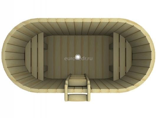 Купель овальная 1200x1700x780