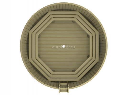 Круглая купель 2500 x2500x1200 мм