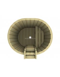 Купель овальная 1200x1000x780