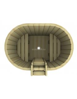 Купель овальная 1200x1200x780
