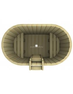 Купель овальная 1200x1400x780