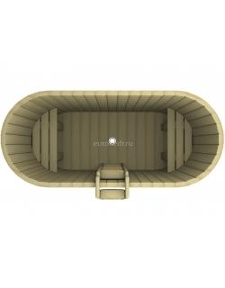 Купель овальная 1200x2000x780