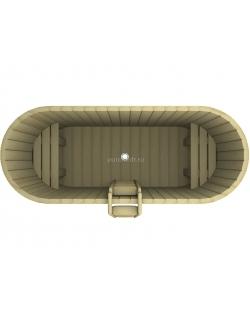 Купель овальная 1200x2200x780